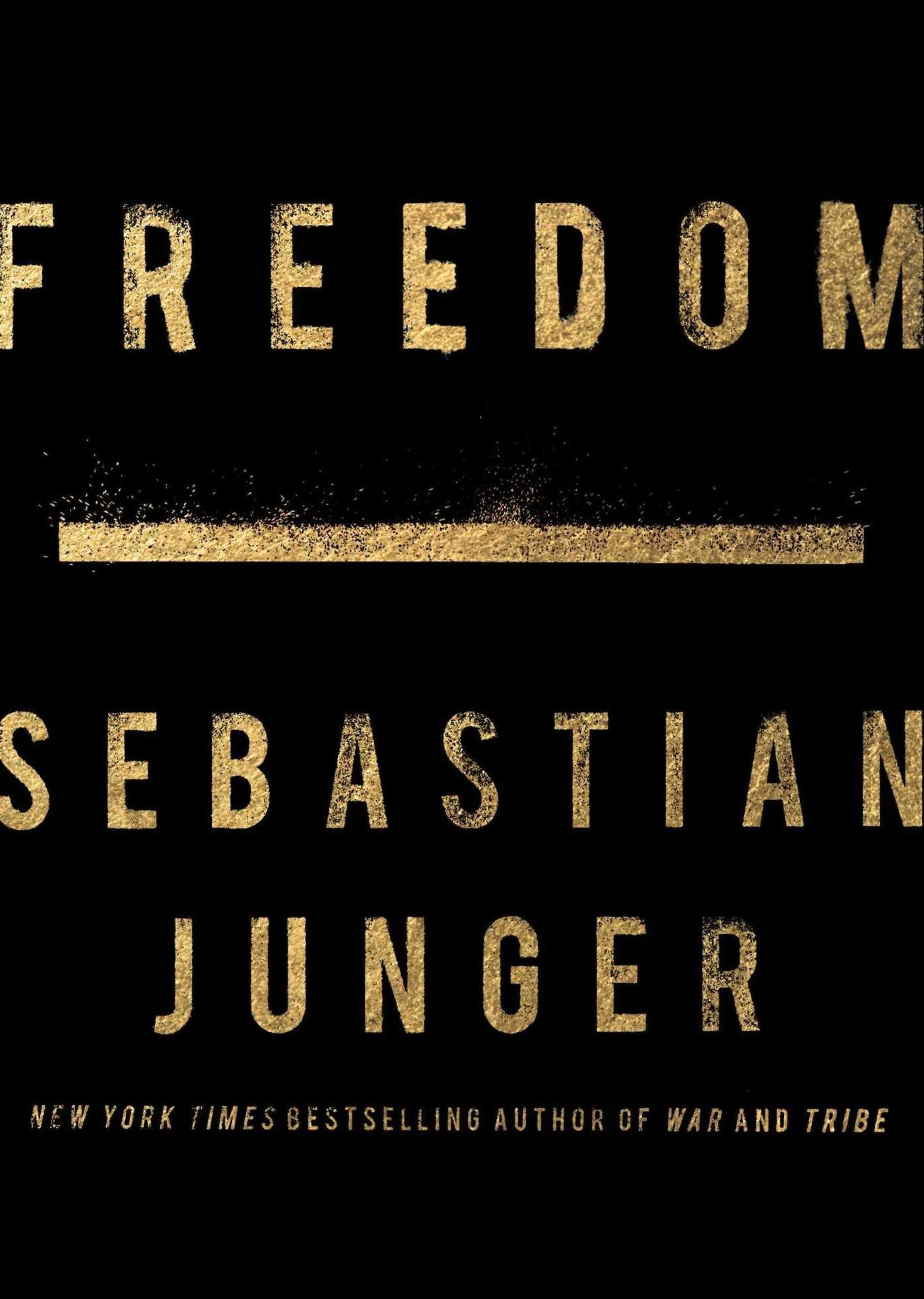 Sebastian Junger Tackles The Idea Of 'Freedom' But Arrives At No Conclusion